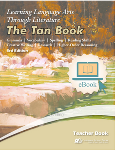 Ebook: The Tan Book, Teacher's, 6th Grade, LLATL, 3rd edition