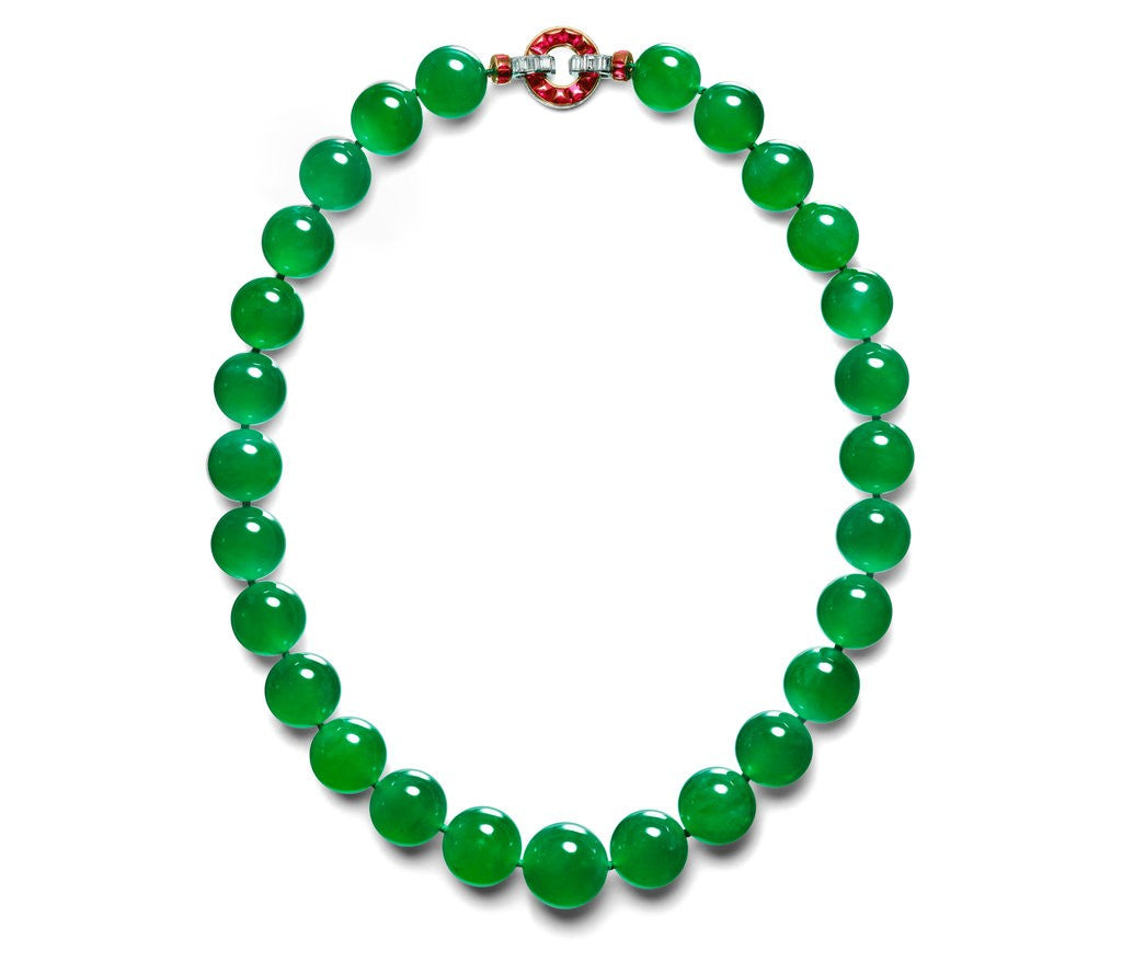 World's Most Valuable Jadeite Necklace