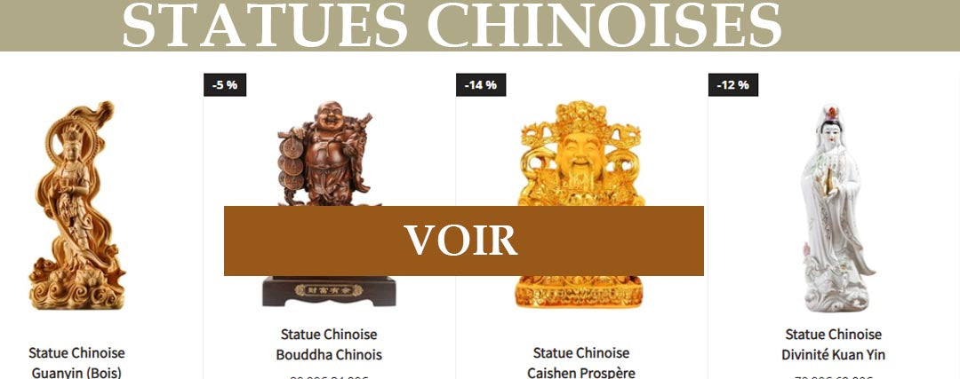 Collection Statues Chinoises