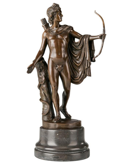 Apollon Statue en Bronze