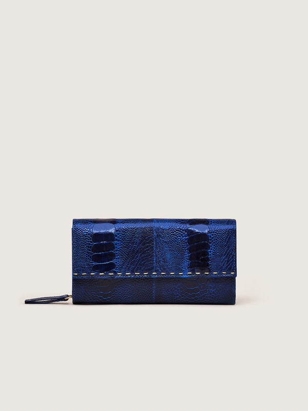 Zip Around Wallet - Hydrangea
