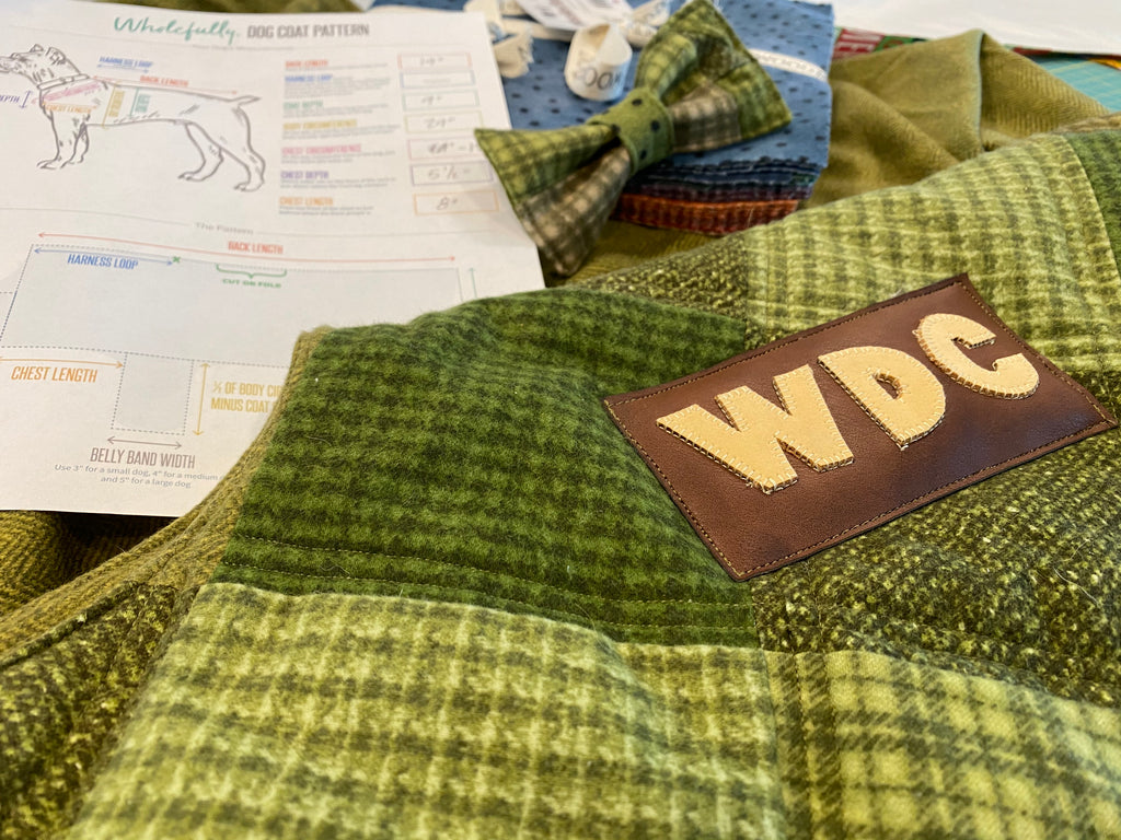 Keeping our furry friends warm with Maywood Studio's Woolies Flannel