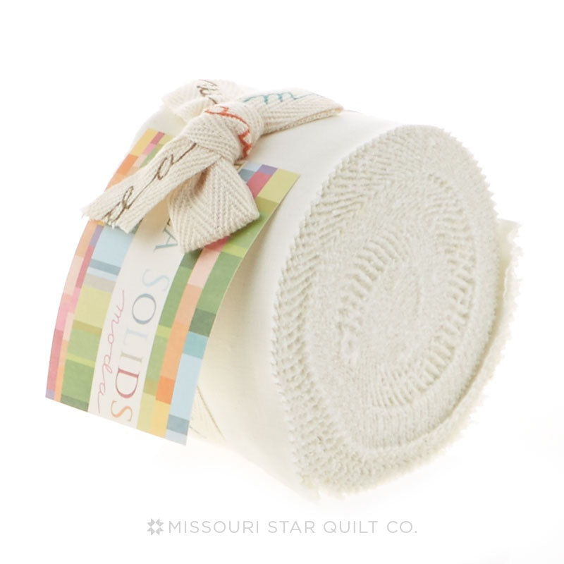 Bella Solids Porcelain Junior Jelly Roll