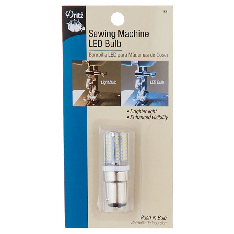 Sewing Machine LED Light Bulb - Push-In