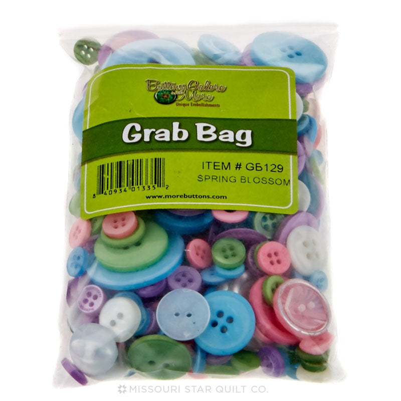 Button Grab Bag - Spring Blossoms