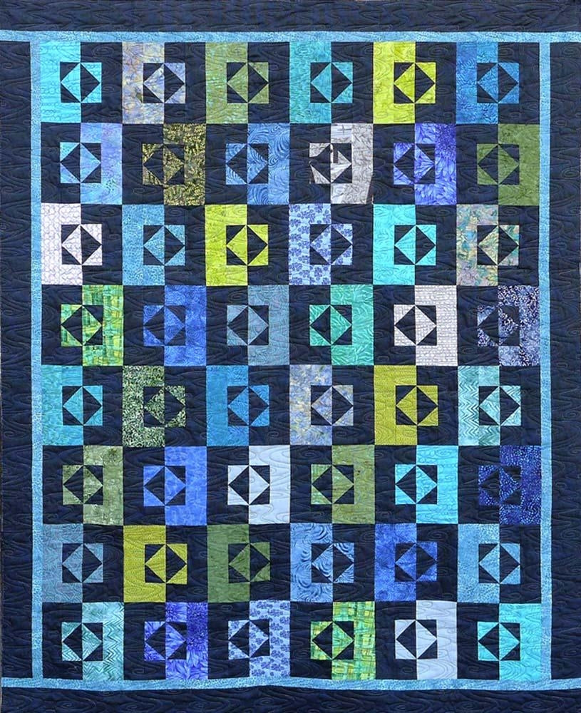 Mirror Mirror Quilt Pattern and Thangles