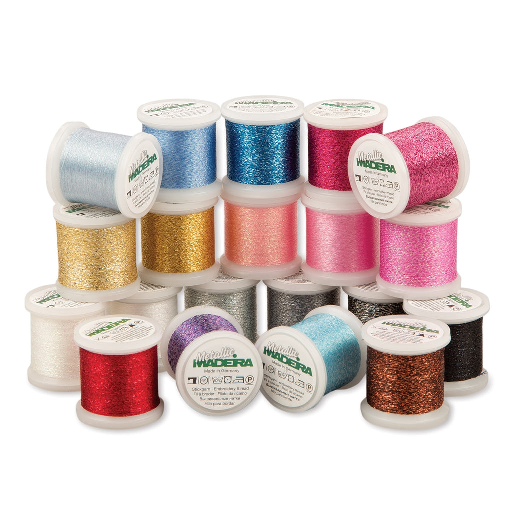 Madeira Supertwist Metallic 20 Spool Value Pack