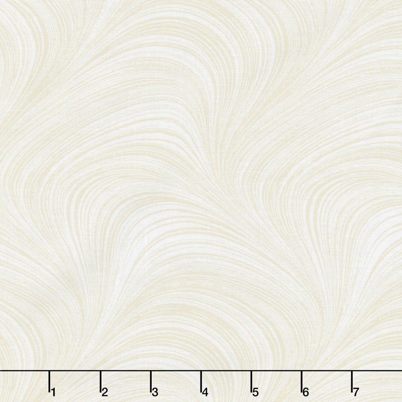 "Wave Texture - Wave Texture Cream 108"" Wide Backing"