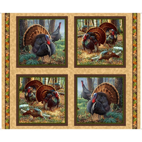 Turkey Hill Fabric Panel