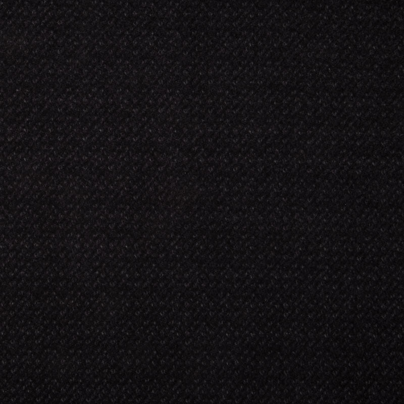 Woolies Flannel - Poodle Boucle Black Yardage
