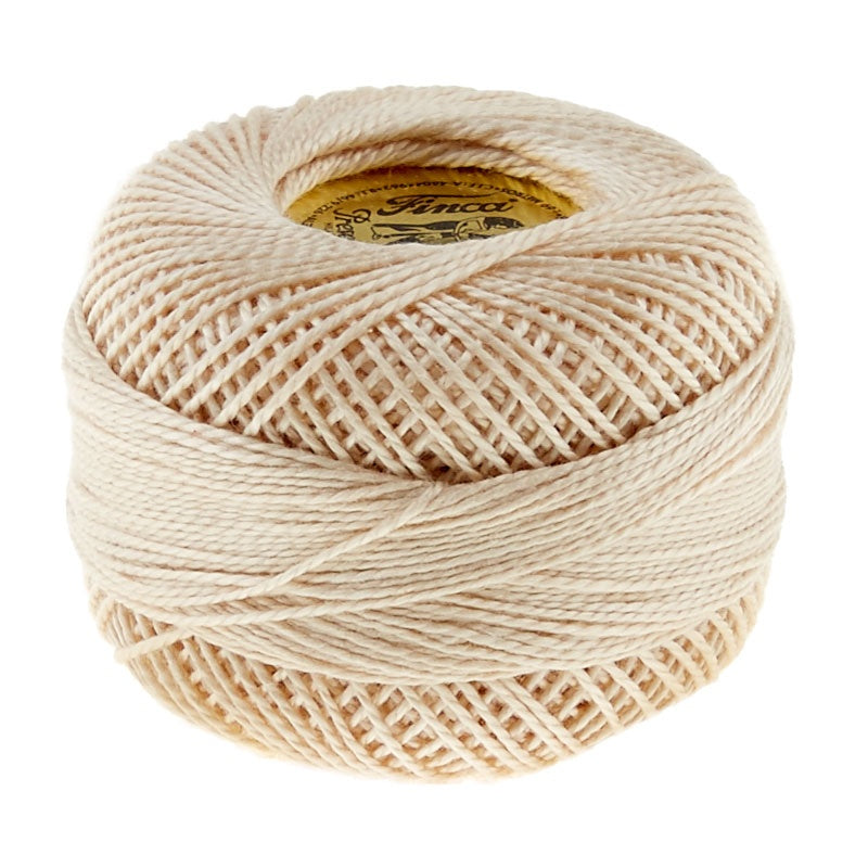 Presencia Perle Cotton Thread Size 8 Dark Ecru
