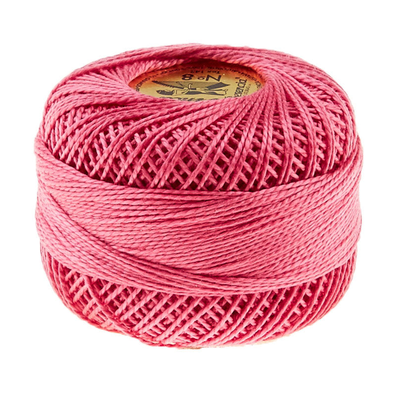 Prescencia Perle Cotton Thread Size 8 Mauve