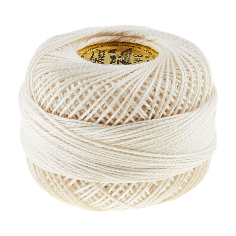 Presencia Perle Cotton Thread Size 8 Ecru