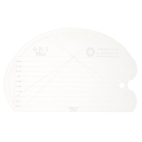 4-N-1 Mini Machine Quilting Ruler