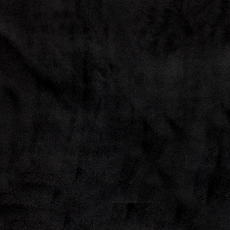 "Cuddle® Solids - Black 60"" Minky Yardage"