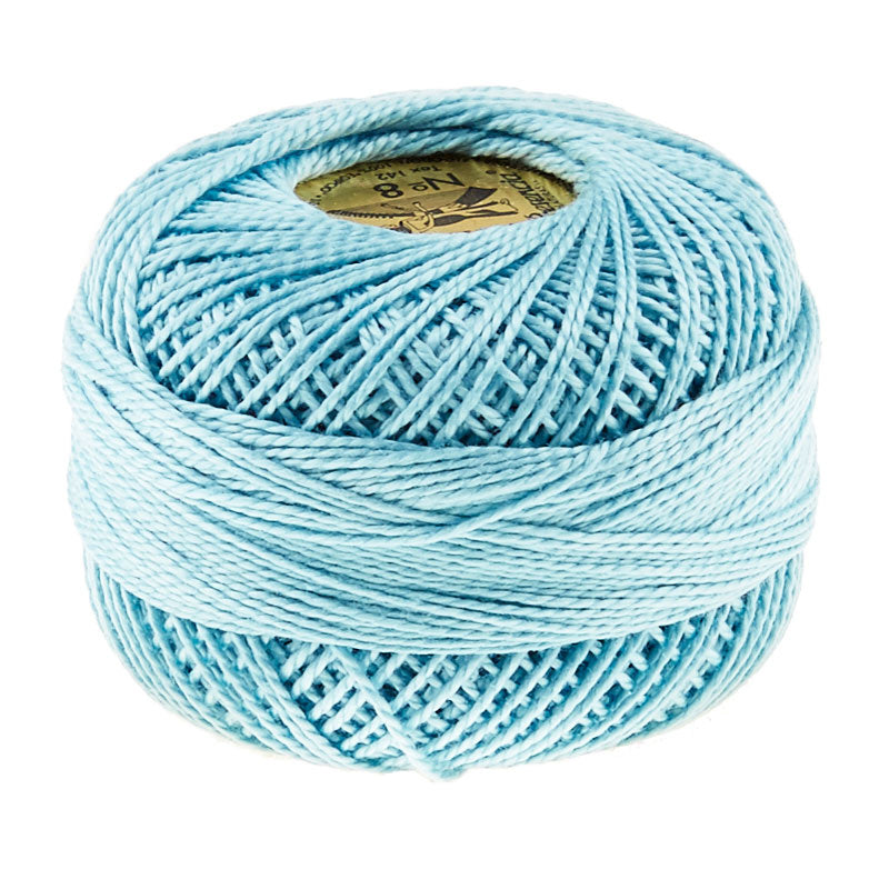 Presencia Perle Cotton Thread Size 8 Light Turquoise