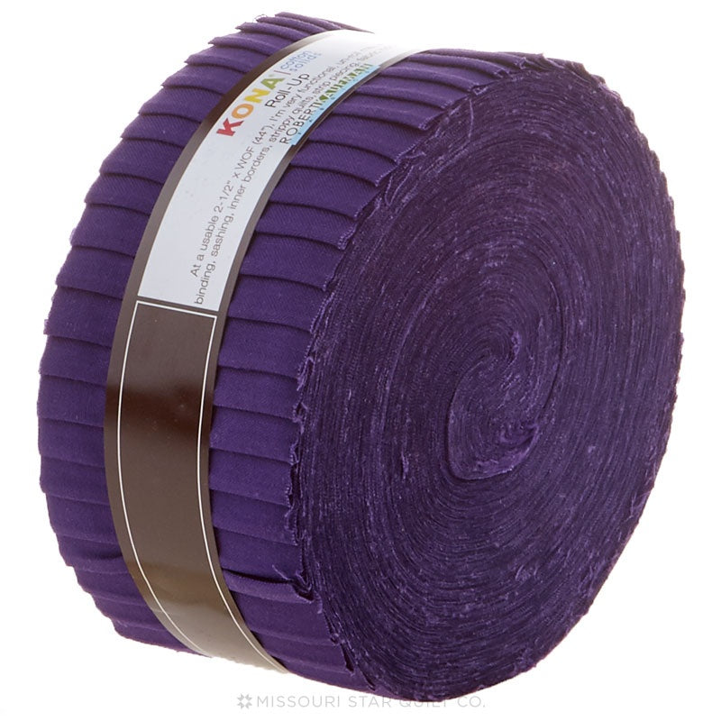 Kona Cotton - Purple Roll Up