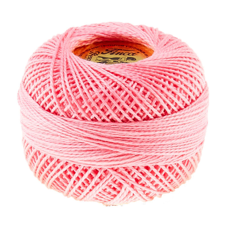 Prescencia Perle Cotton Thread Size 8 Pale Geranium