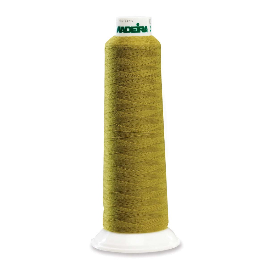 Olive Drab Madeira Aerolock Serger Thread