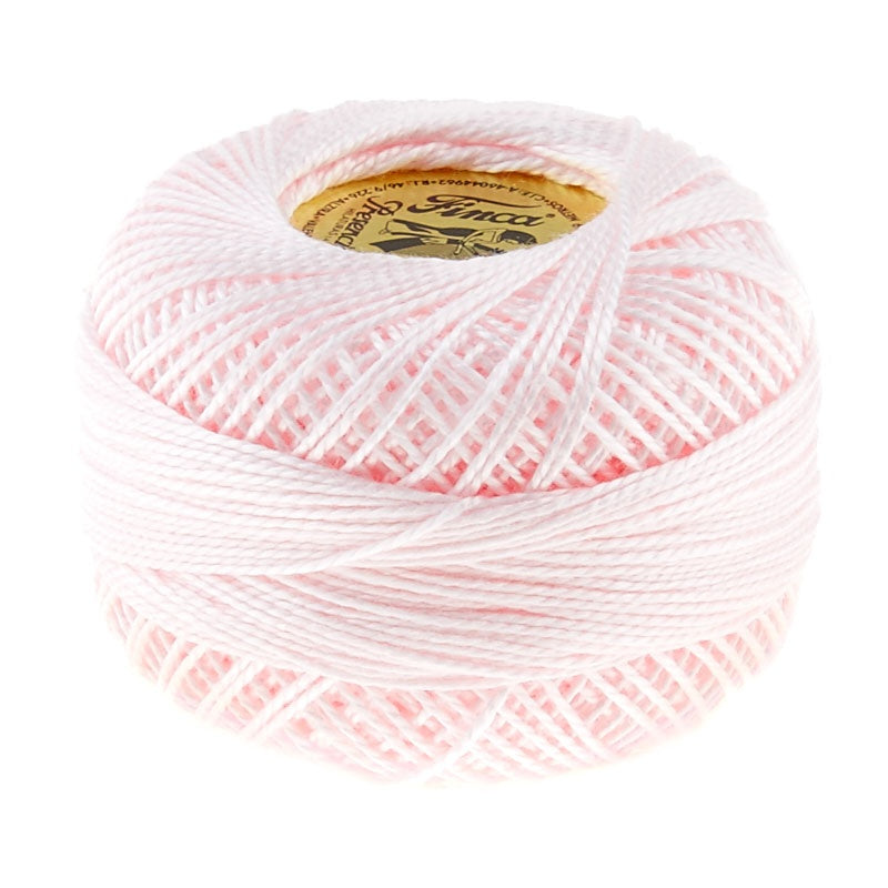 Prescencia Perle Cotton Thread Size 8 Baby Pink