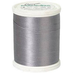 Steel Grey Madeira 40 Wt. Rayon Embroidery Thread - 220 yds