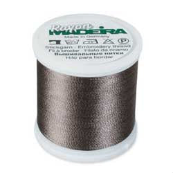 Charcoal Gray Madeira 40 Wt. Rayon Embroidery Thread - 220 yds