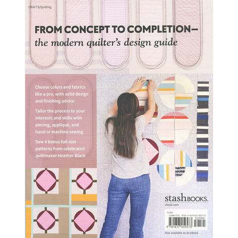 Design, Make, Quilt Modern Book