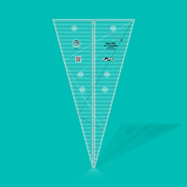 Creative Grids 30 Degree Triangle Ruler