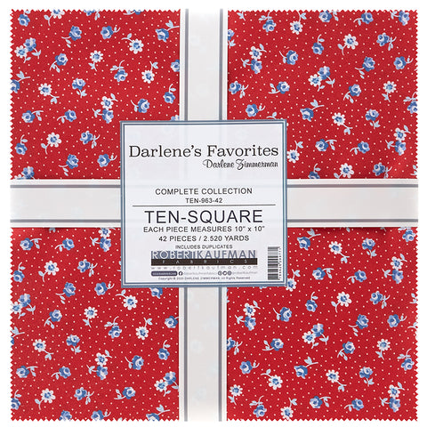 "Darlene's Favorites 10"" Squares"