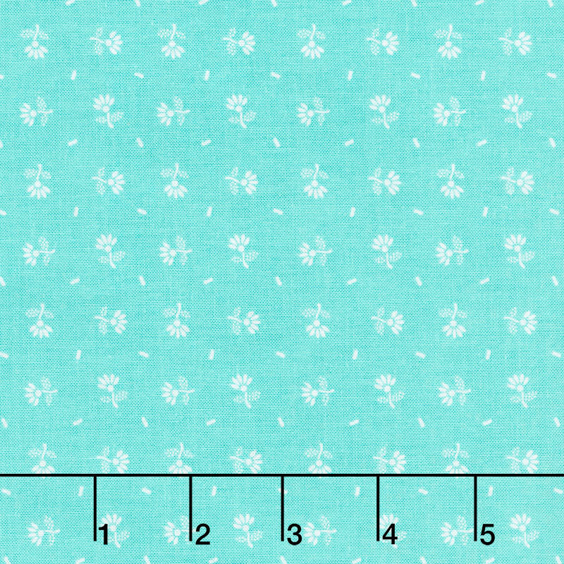 Prim - Daisy Sea Glass Yardage