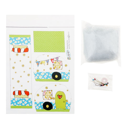Happy Camper Pincushion Kit