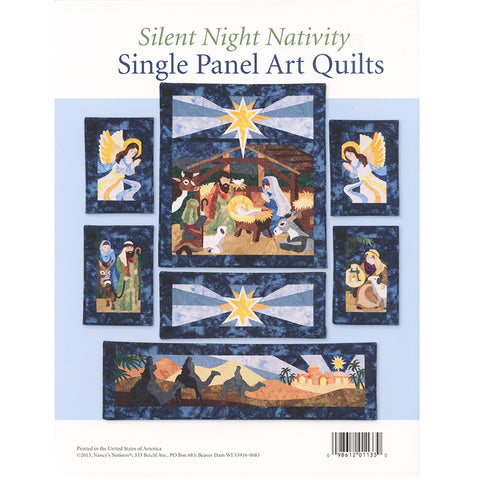 Sewing with Nancy - Silent Night Nativity Art Quilt Book