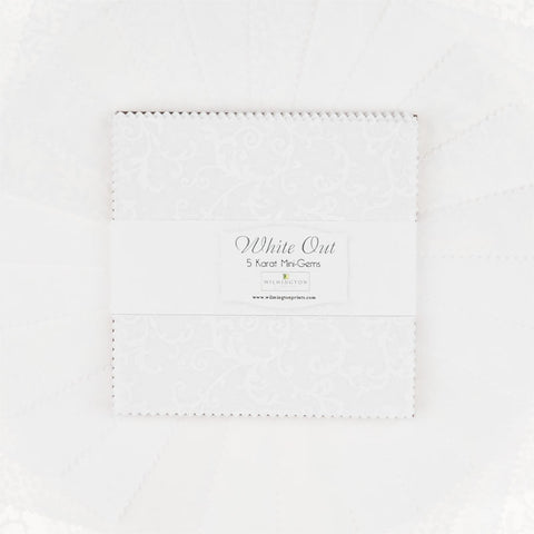 "White Out 5"" Karat Mini Gems"