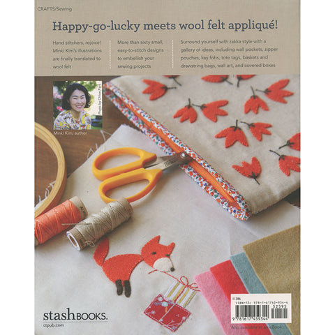 Zakka Wool Appliqué Book