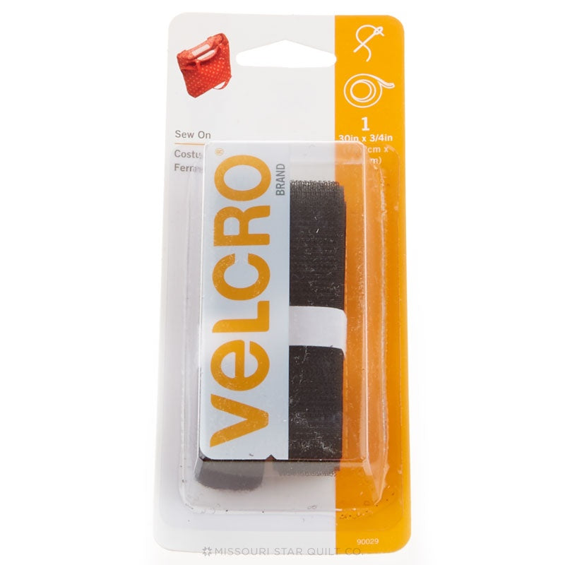 "Velcro 3/4"" x 30"" Strip Black"