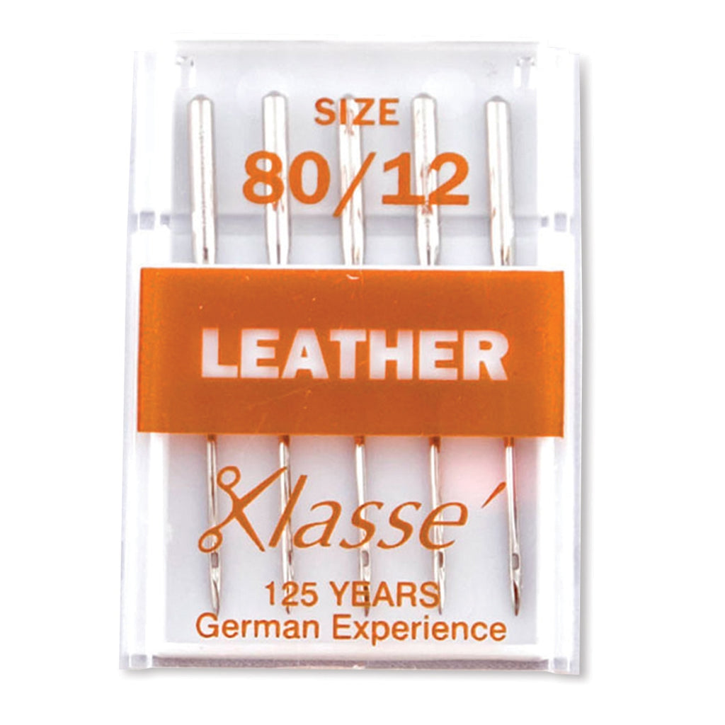 Klasse Leather Needles, 5/Pack - Size 80/12
