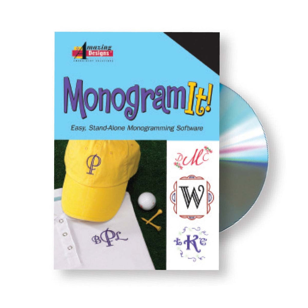 Monogram It! Embroidery Software