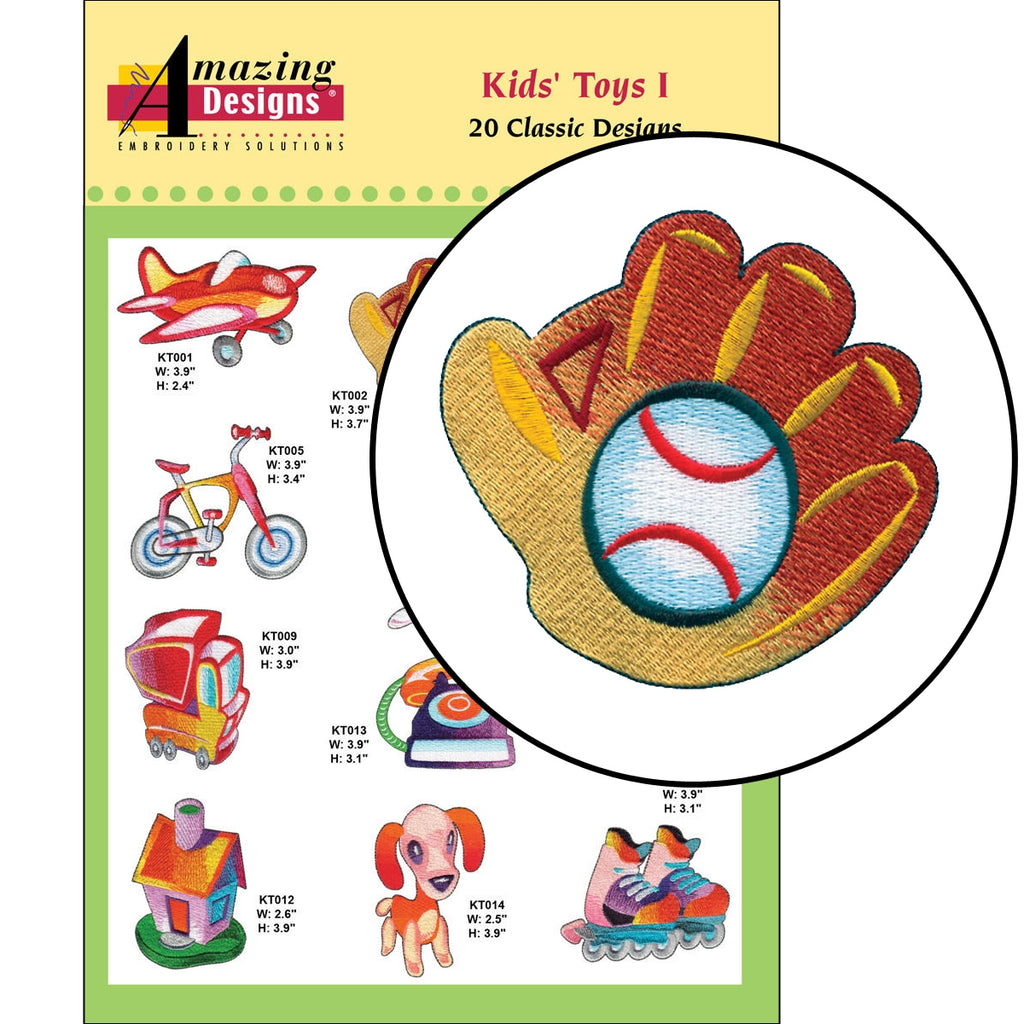 Kids Toys I Embroidery Designs CD