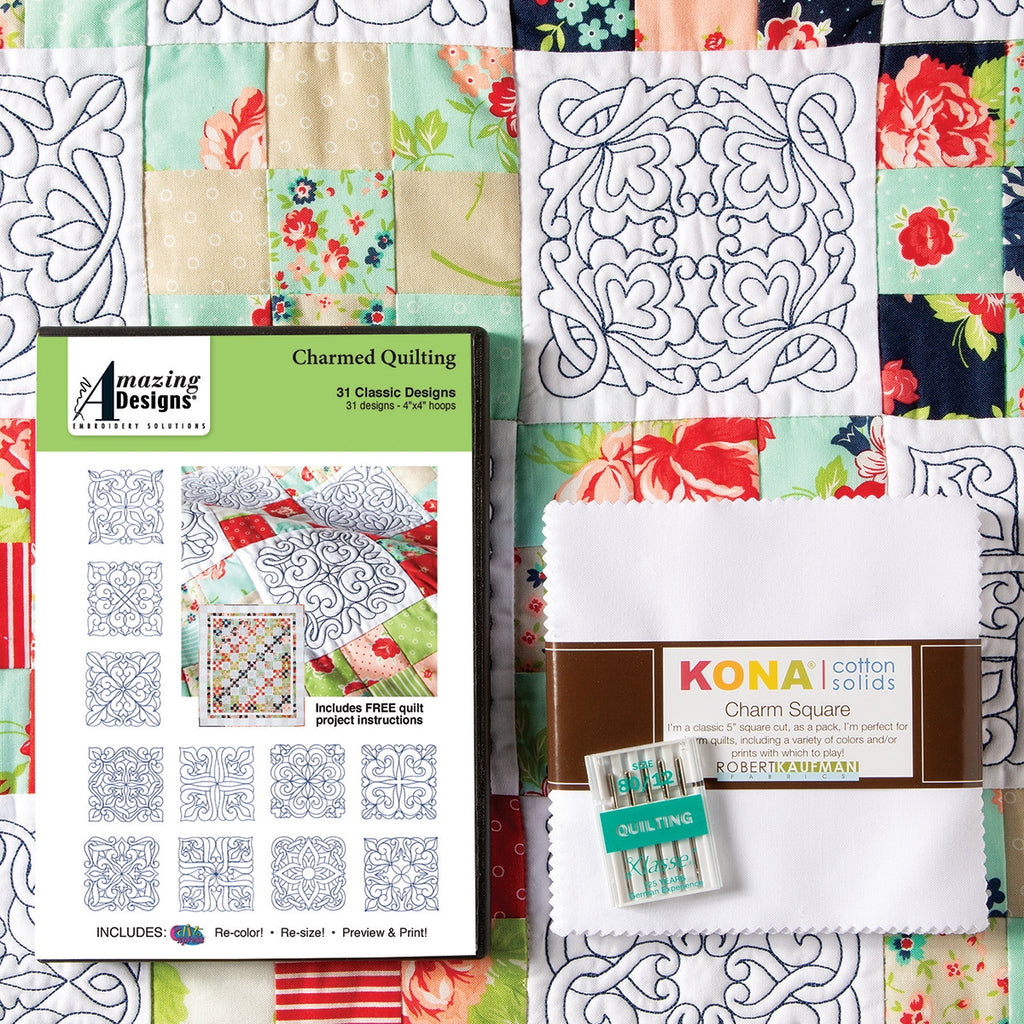 Charmed Quilting Embroidery Starter Kit