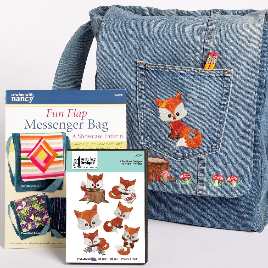 Foxy Embroidery Starter Kit