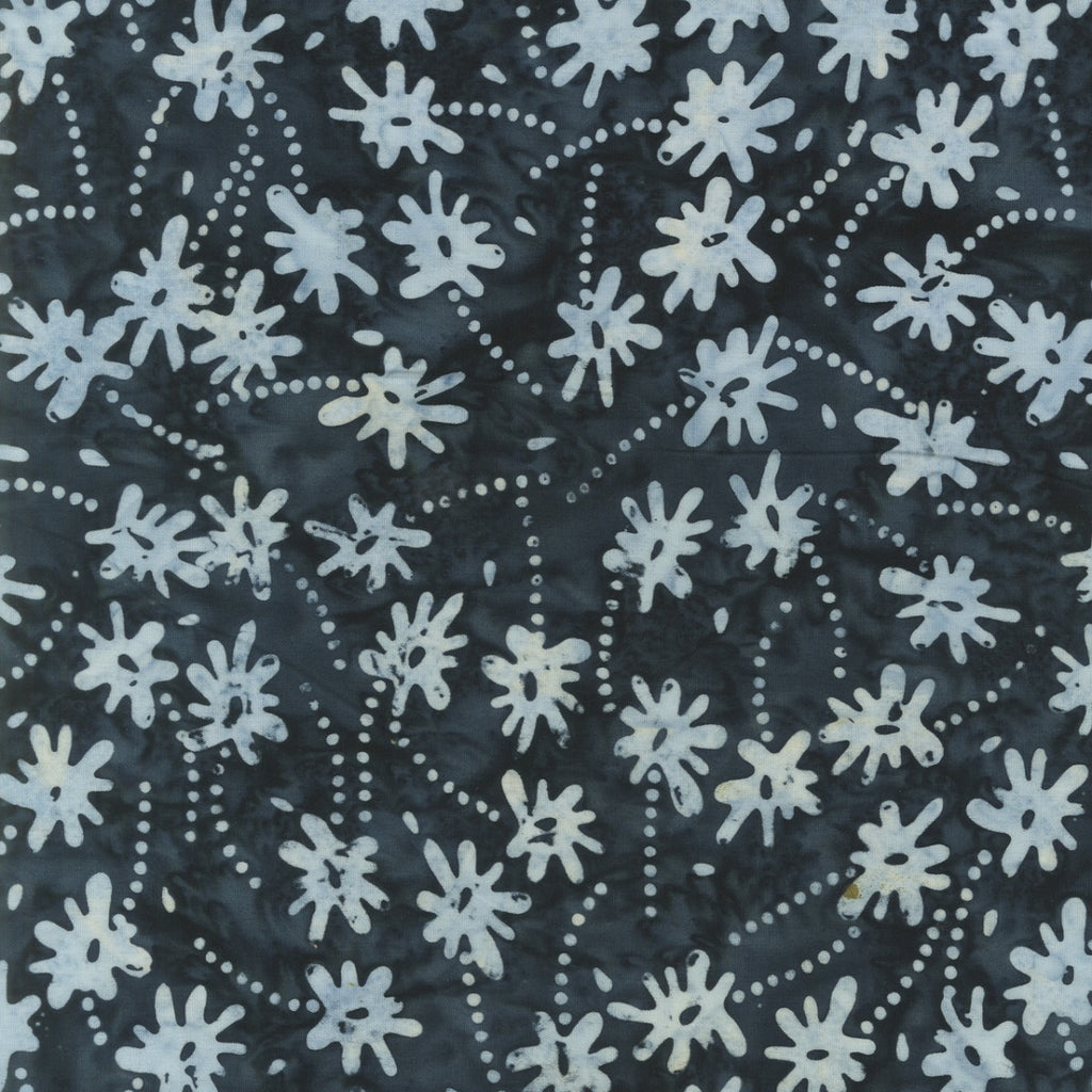 Mary Inman Batik Floral Buds Fabric