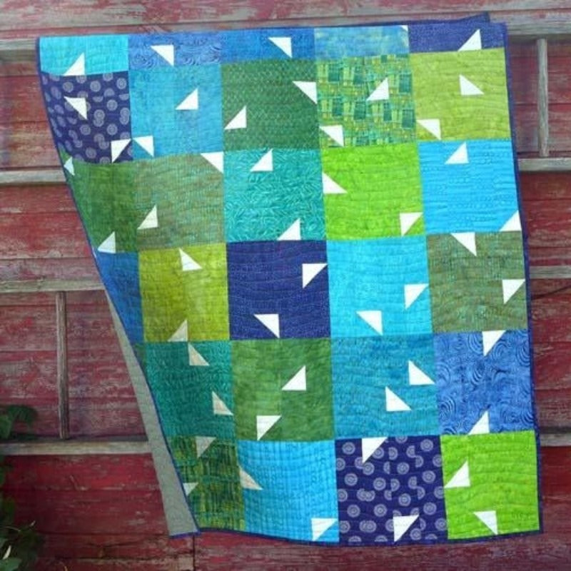 Confetti Quilt Pattern and Thangles