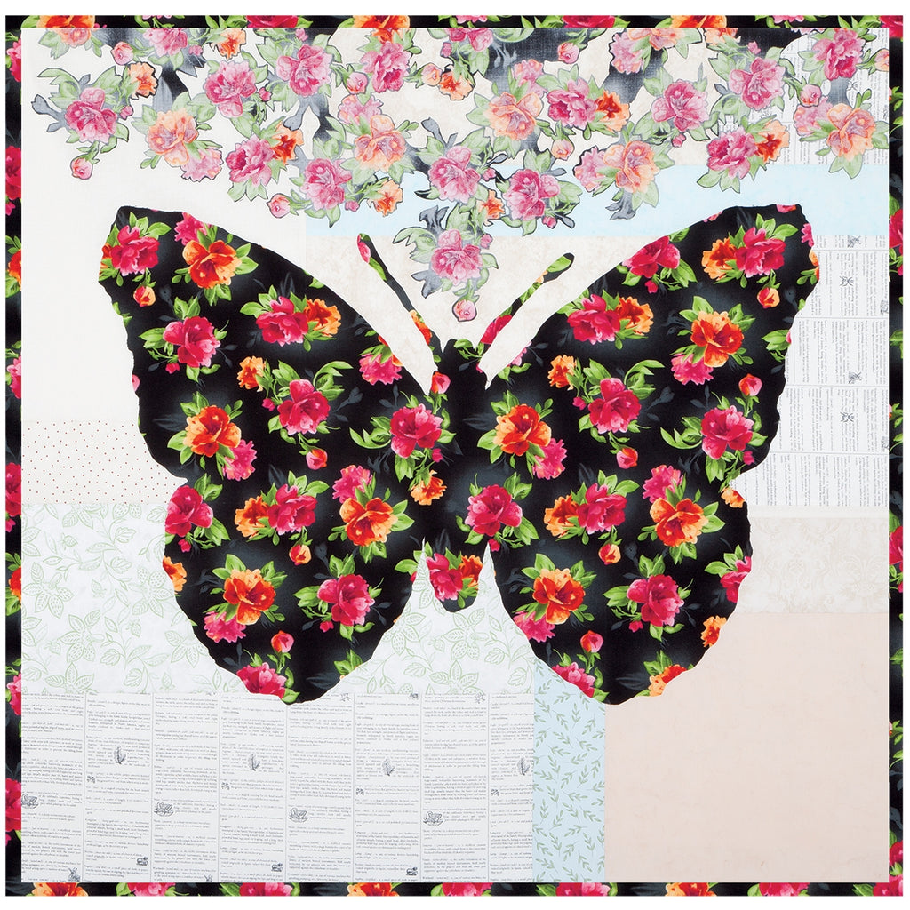 Belle Butterfly Quilt Top Kit