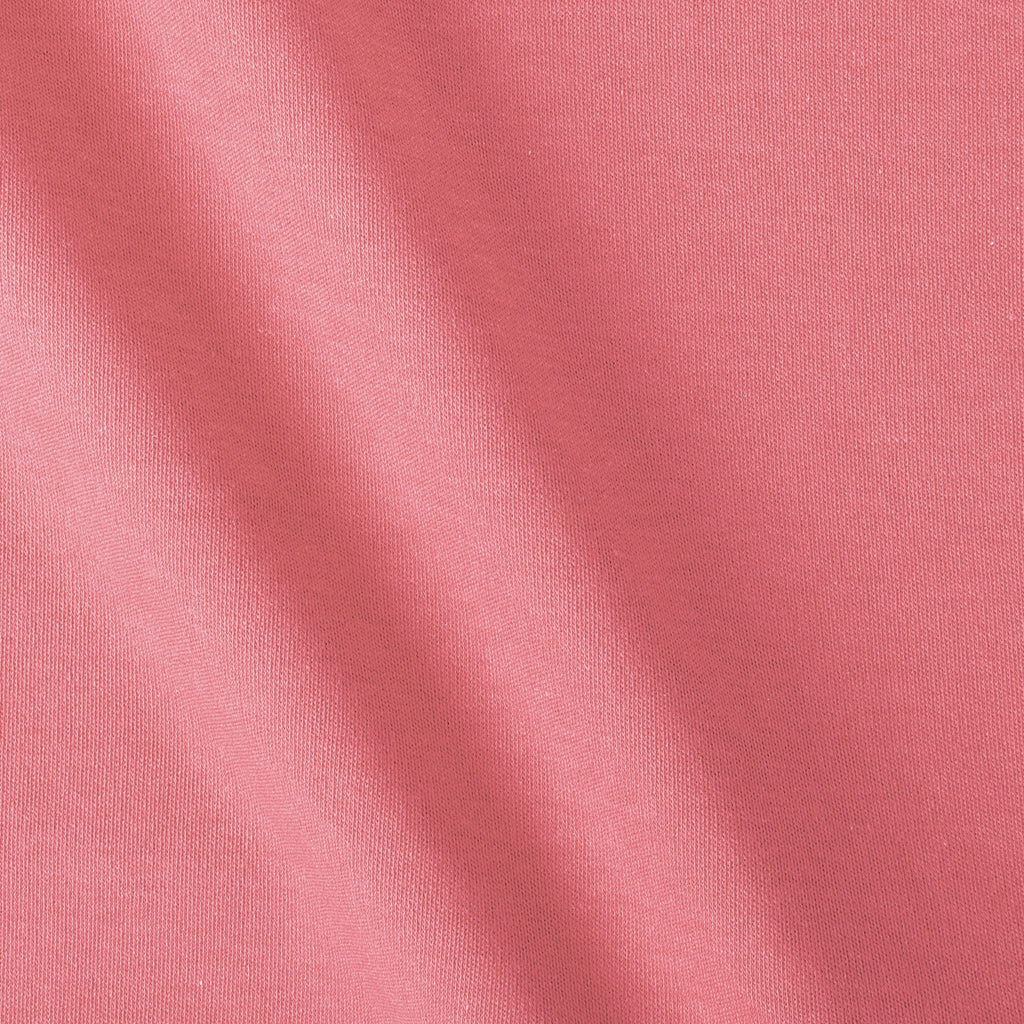 Candy Bare Knits Cotton Poly Interlock Fabric