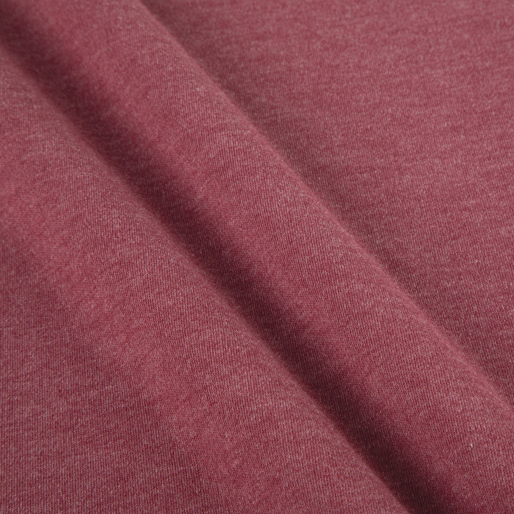 Sangria Bare Knits Cotton Poly Interlock Fabric