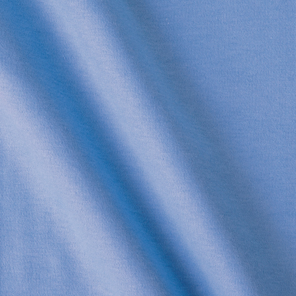 Periwinkle Bare Knits Cotton Poly Rib Knit Fabric