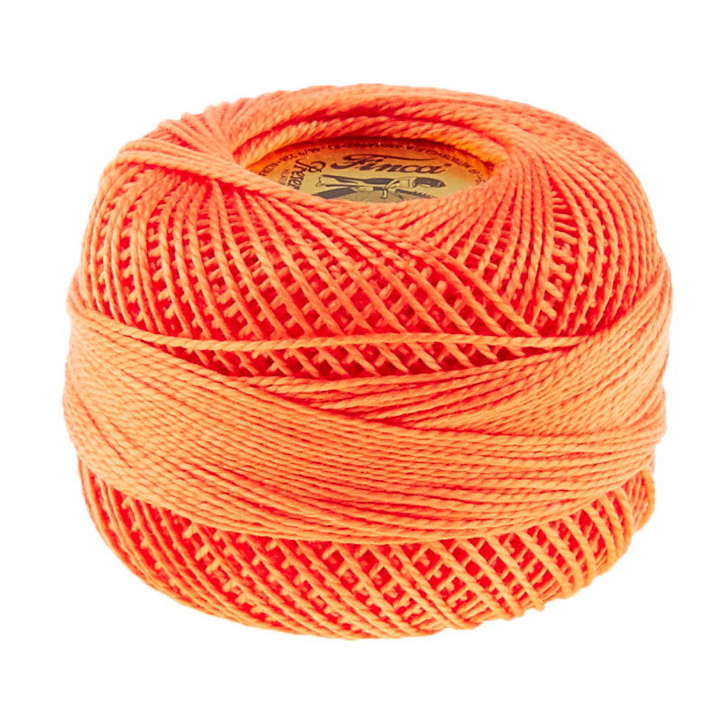 Presencia Perle Cotton Thread Size 8 Medium Apricot