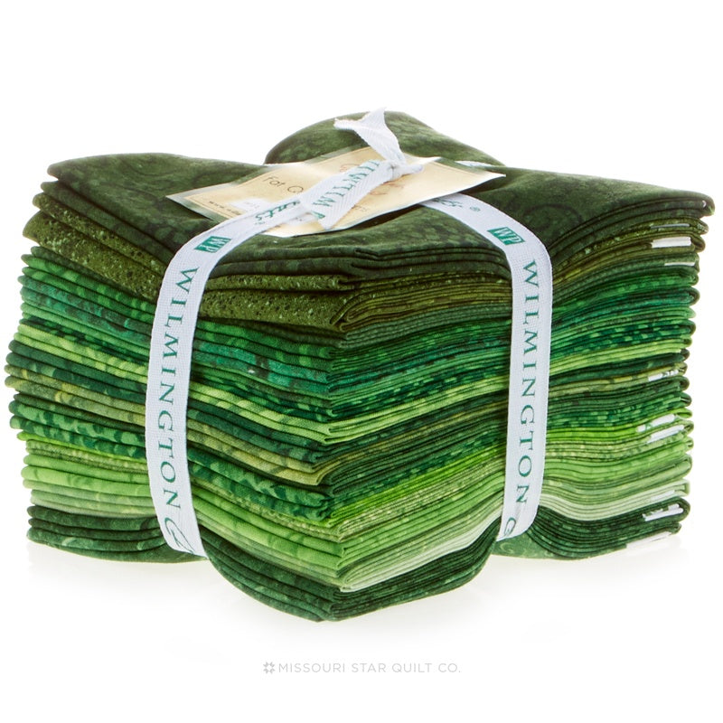 Wilmington Essentials - Emerald Forest Fat Quarter Gems
