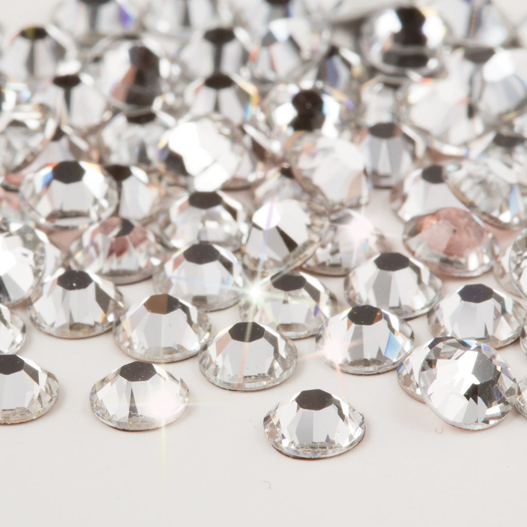 3 mm Hot fix Swarovski Crystals Crystal