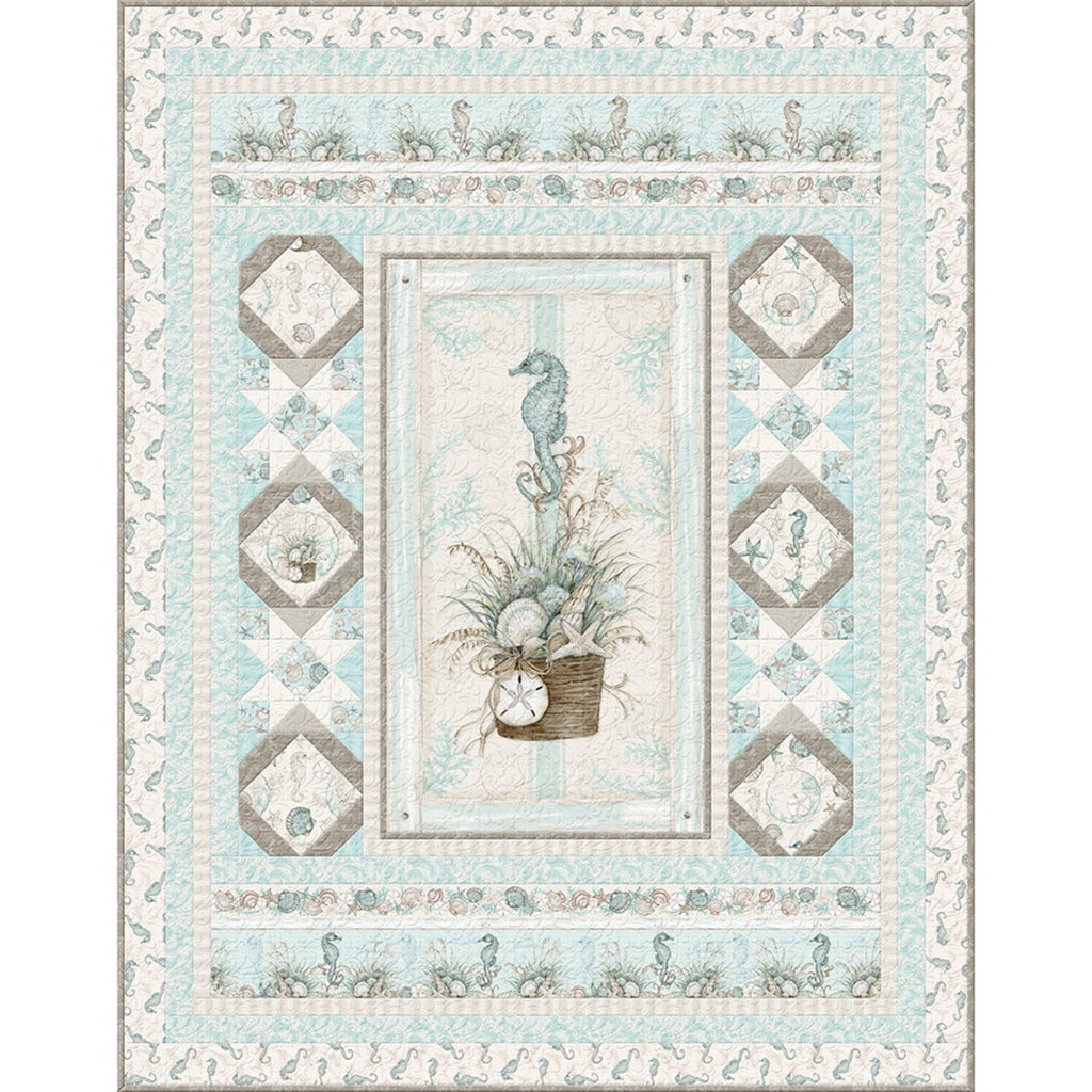 Coastal Wishes Quilt Top Kit